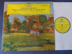 NM BRAHMS - STRING SEXTET NO 2 LP, Amadeus Quartet, Pleeth, DG 139 459