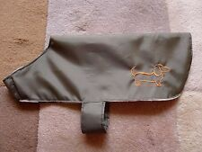 Dog Coat, Showerproof - Dachshund or Small Dog - various sizes available
