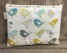 iPad bag,Tablet cover,iPad case,iPad Sleeve,Gadget Case,Birds Oilcloth