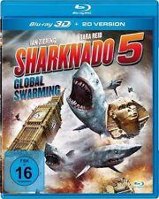 SHARKNADO 5-EARTH 0 (UNCUT FASSUNG) - REID,TARA/ZIERING,IAN   3D BLU-RAY NEU