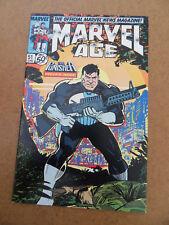 Marvel Age 51 . Punisher Preview . Marvel 1987 . VF