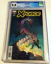 CGC 9.8 X-Force #16 White Pages 2021