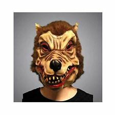 WearWolf wolf Man Nightmare Overhead Latex Adult Mask Scary Monster Horror Hallo