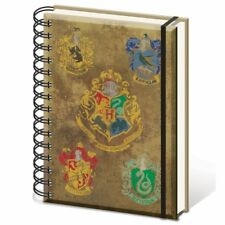 Cahier Harry Potter Sr72083 « Hogwarts Crests A5 Wiro »