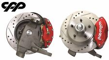 "55 56 57 Chevy Belair Wilwood D52 12"" Disc Brake Conversion Drop Spindle Kit"