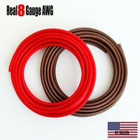 TRUE 8 GAUGE AWG WIRE CABLE 100 FT,50 BLACK 50 RED POWER GROUND STRANDED PRIMARY