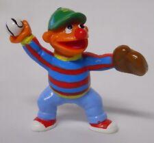 1990's Applause Sesame Street Baseball Pitcher Ernie PVC Figure-Cake Topper