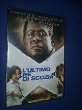 cofanetto+DVD nuovo film L'ULTIMO RE DI SCOZIA** con Forest Whitaker