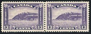 King George V Medallion Issue Scott's # 201 - 13 cent dull violet MNH CV $120 US