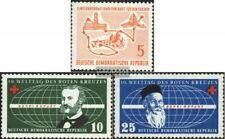 DDR 568,572-573 (kompl.Ausg.) postfrisch 1957 Sondermarken