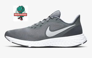 """Nike Revolution 5 """"Cool Grey"""" Men's Running Trainers - Limited Stock"""