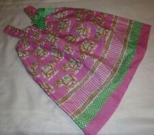 Bonnie Jean 4T Summer Elephant Sleeveless Cotton Dress NWT