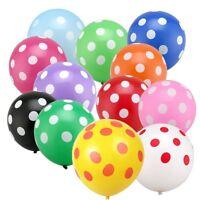 12inch 10pcs/lot Latex Polka Dot Balloon for Party Wedding Birthday Decoration