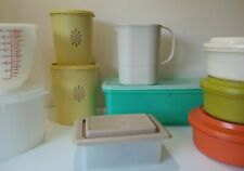 Vintage TUPPERWARE Items Bundle Choose Cost Jugs Bowls Tubs Retro Camper Picnic