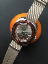 Gerard Parini Swiss Made Vintage World Timer Bezel Mens Watch 37mm