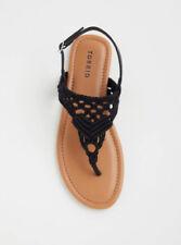 5797a8572b2788 Torrid T-Strap Sandals Sandals for Women