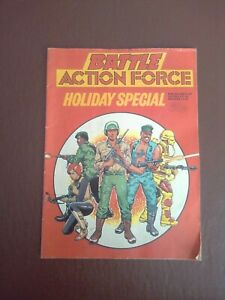 vintage UK comic BATTLE ACTION FORCE HOLIDAY SPECIAL - FLEETWAY - 1985