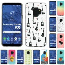 Thin Gel Design Protective Phone Case Cover for Samsung Galaxy S9,Rock Print