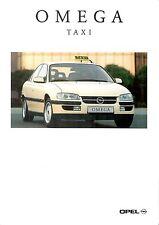 Prospetto/brochure OPEL OMEGA taxi 07/1994