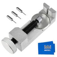 Uhren Armband Pin Entferner Metall verstellbar Werkzeug Kit für Uhrenmacher