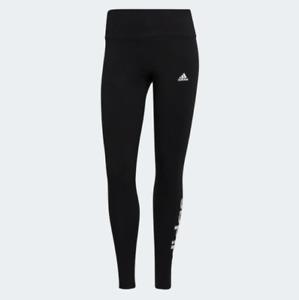 adidas Women's Essentials Loungewear High-Waisted Logo Leggings