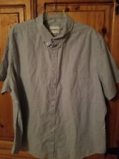 Mens XXL BLUE GOODFELLOW AND CO BUTTON DOWN Slim Fit Shirt NWOT retails  $17.99