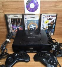 New listing Sega Saturn Mk-80000A Console w/ Controllers + Games 🇺🇸