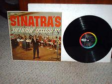 FRANK SINATRA 33 RPM RECORD (LP) ---SINATRA'S SWINGIN' SESSION