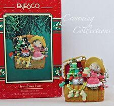 Enesco Mice Sewn Darn Cute Treasury of Christmas Ornament Tailor Made Sewing 3rd