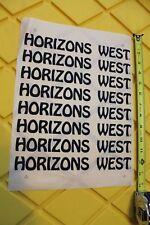 HORIZONS WEST Surfboards Zephyr Dogtown Z-Boy Nathan Pratt Laminating Decal