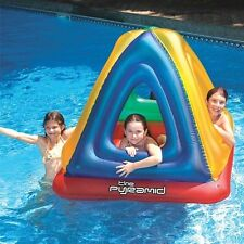 NEW Swimline The Pyramid Inflatable Colourful Kids Water Toy Paddle Pool Toddler