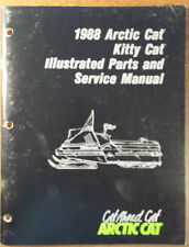 1988 Arctic Cat Kitty Cat, Illustrated Parts & Service Manual # 2254-444