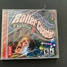 Vintage Roller Coaster Tycoon 3 Computer Cd-rom Game Sealed