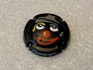 "NEW / Capsule de champagne peinte à la main Dehu L.- ""Clown"" - nr° 36/120 ★"