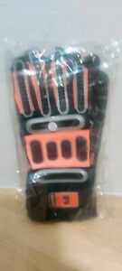 K & E Safety High Performance Impact/Fire Resistant Hybrid Work Gloves. Medium 9