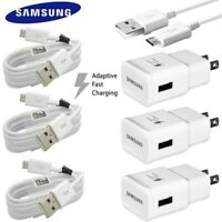 For Samsung Galaxy S7 S6 Edge Note 4 5 Adaptive Fast Rapid Wall Charger Cable