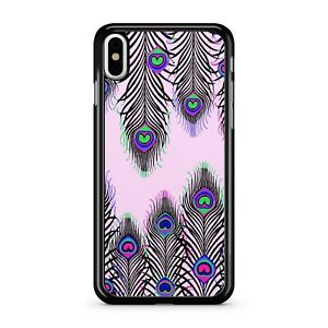 Attractive Lush Colourful Artistic Peacock Feathers Pattern 2D Phone Case Cover