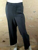 HAROLD Stretch Taille 60 GRANDE TAILLE pantalon habillé gris homme laine mélangé