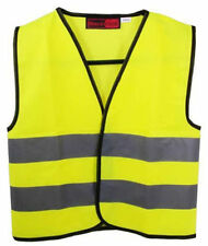 Blackrock Kids Yellow Hi Vis Vest Childrens High Visibility Viz Waistcoat 🆕✅