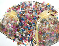 CRYSTAL CHIPS SMALL POLISHED TUMBLE STONES CRYSTALS FOR CRAFTS AND HOBBIES