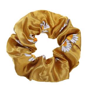 Women Long Elastic Ponytail Scarf Bow Hair Rope Ties Scrunchies Ribbon Hair Band