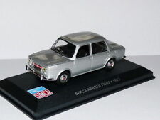 Voiture 1/43 IXO altaya SIMCA abarth 1150S 1963