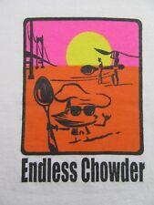 ENDLESS CHOWDER 26th Annual Great Chowder Cook-off Souvenir T Shirt Size L