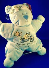 HARLEY-DAVIDSON MOTORCYCLE OFFICIAL LICENSED H-D PLUSH BABY TOY CAT NWT