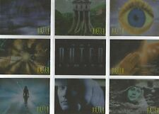 """Outer Limits Sex, Cyborgs..: """"Opening Monologue"""" 9 Card Chase Set #M1-9"""