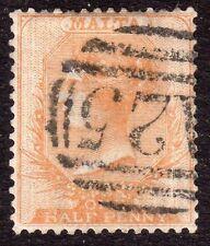 Pre-Decimal Used Maltese Stamps (Pre-1964)