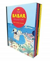 Babar The Elephant 4 Books Box Set Kids Classic Picture Books Jean Brunhoff New