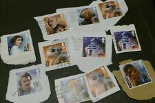 11 Star Wars commemorative UK British postage stamps philately philatelic postal