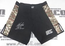 Anthony Pettis Signed UFC Fight Shorts Camo Trunks PSA/DNA COA Autograph 181 164