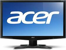 "Acer G245HQ LCD 24"" inch Monitor 60 Hz DVI HDMI & VGA inputs with Stand"